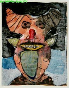 """LUCEBERT/""""Satyr"""", 1959"""