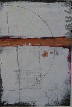 Original Mixed Media ABSTRACT Paintings by jillkrasner on Etsy