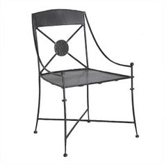 "A old European forged iron chair for veranda, rustic patio and garden. It is handmade in black iron, rusted and natural finishing. Forged Iron Chair ""Old European"" by Rustica House. Furniture Room, Outdoor Dining Furniture, Iron Furniture, Apartment Furniture, Furniture Makeover, Garden Furniture, Furniture Ideas, Outdoor Living, Furniture Design"