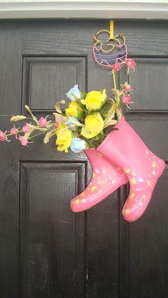 Springtime door decoration