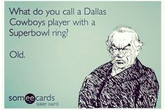 Washington Redskins Football ~ Dallas Cowboys suck ecard