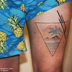 Aga Kura Tattoo - Berlin GermanyCONCEPT : Vaporwave...