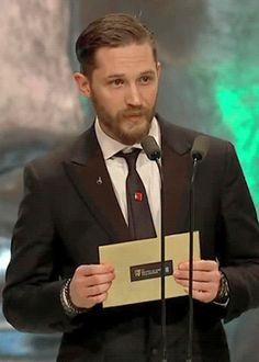 Tom Hardy - Bafta 2014