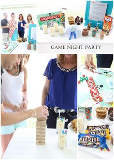 Game night party ideas, recipe and more!