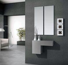 Recibidor con espejos y consola (1306 – AR12) - Muebles CASANOVA