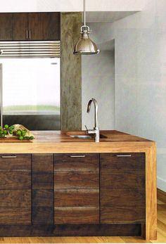 beautiful kitchen island/counter