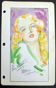 Paul Frehm Original Comic Strip Art-Pin Up-Ripley's Believe It of Not-SKOA-1930s | eBay