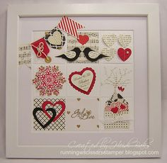 RunningwScissorsStamper: The Stamp Review Crew: Hearts A Flutter