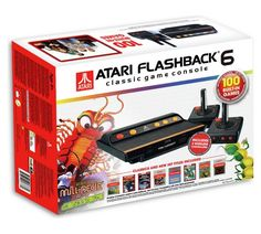 Buy Atari Flashback 6 Classic Game Console & 100 Built-In Games at Argos.co.uk, visit Argos.co.uk to shop online for Gadget and novelty gifts, Gifts
