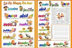 Vamos aprender os meses do ano em português.