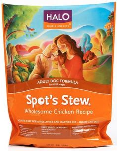 Halo Spot's Stew Natural Dry Dog Food, A...