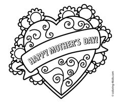 mothers day coloring pages for kids printable free coloringpages mothersday mothers