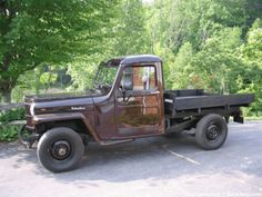 Used Jeeps For Sale - 1954 Willys Pickup Truck for Sale
