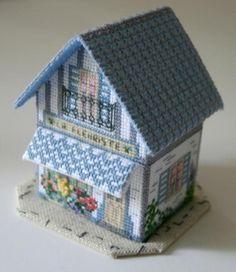 3d Pequena casa - Blog Corinne bordadeira