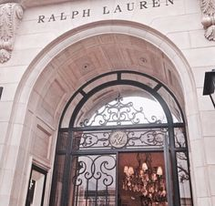 Déjeuner au Café Ralph Lauren à St-Germain.