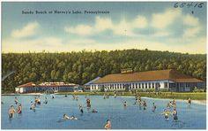 Sandy Beach at Harvey's Lake, Pennsylvania | Flickr - Photo Sharing!