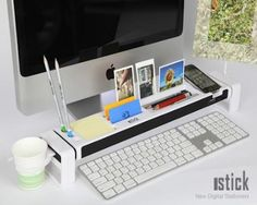 Duronic iStick Save & neatly organize working area! #worklife #workspace