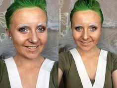Simple Oompa Loompa Makeup Tutorial (Miss Loompa) - YouTube