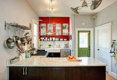Gorgeous Red Cabinets Steal the Show In This Seattle Kitchen — Kitchen Spotlight