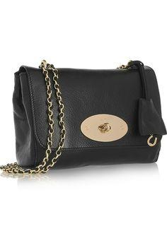 Mulberry | Lily leather shoulder bag | NET-A-PORTER.COM