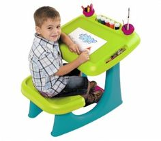 Shop for Keter Sit & Draw Kids Art Table Creativity Desk, with Arts and Crafts Storage, and Removable Cups. Get free delivery On EVERYTHING* Overstock - Your Online Toys & Hobbies Store! Kids Art Table, Kids Table And Chairs, Kid Table, Arts And Crafts Storage, Craft Storage, Little Tykes, Church Nursery, Art Desk, Plastic Tables