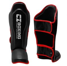 RDX SGL-T4W Unisex Adults Leather Shin Instep Guards