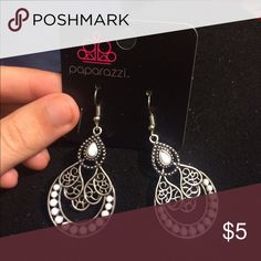 White Drop Earrings Brand new Jewelry Earrings