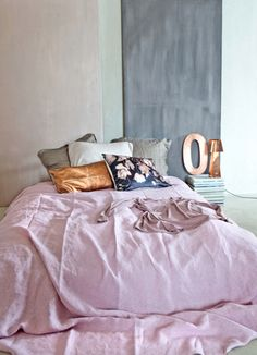 blush with navy & gold accents