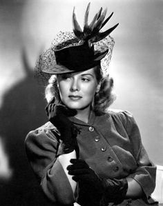 Brenda Joyce looks just fine in feathers doesn't she Shirley? Description from myloveofoldhollywood.blogspot.com. I searched for this on bing.com/images