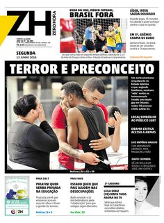 Zero Hora | Today's Front Pages | Newseum
