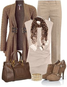 """Leopard Scarf"" by denise-schmeltzer on Polyvore"