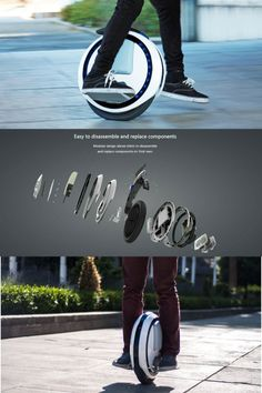 Ninebot One E+ /One C - electric unicycle free ship from US with warranty E Electric, Electric Scooter, Unicycle, Virtual Fashion, Social Media, Technology, Ebay, Electric Moped Scooter, Tecnologia