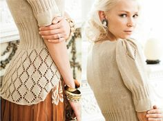 YESSS! I made it into Vogue Knitting Holiday 2012 - here's my design in the Fashion Preview