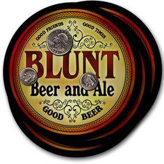 Beer Coasters Blunt Marek Fryer Janes Mauro Taber Brent Pearl Pyles Yager Reitz…