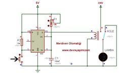 Merdiven Otomatiği Devresi | Devre Yapımı - Elektrik Elektronik Devreleri