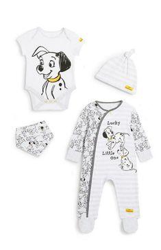 101 Dalmatians Starter Set Disney Baby Clothes Boy, Cool Baby Clothes, Unisex Baby Clothes, Baby Disney, Baby Outfits Newborn, Baby Boy Outfits, Boys Winter Clothes, Girls Pajamas, Baby Girl Fashion