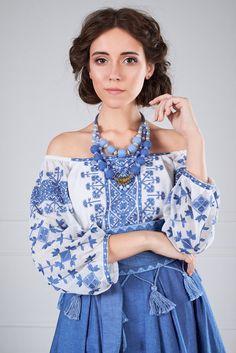 Стильна блуза-вишиванка/polonets