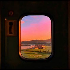 Aesthetic landscape city sky travel around the world nature vacation ideas sunset sunrise pink sky view wallpaper