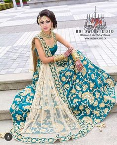 Blue sari with floral printed pleats Blue art silk faux georgette Floral embellished Comes with matching unstitched blouse Indian Party Wear, Indian Bridal Wear, Indian Wedding Outfits, Pakistani Outfits, Indian Outfits, Blue Bridal, Saris, Moda Indiana, Desi Clothes
