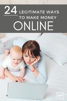If you're looking for the perfect opportunity to make money online, I've compiled 24 of my favorite online business ideas that require minimal start-up costs and allow you to use your talents on your own schedule. All you need is a high-speed internet connection, a computer, and the motivation to put in the work. Work From Home Business, Start Up Business, Business Ideas, Online Business, Make Money From Home, Way To Make Money, Make Money Online, Online Income, Online Jobs