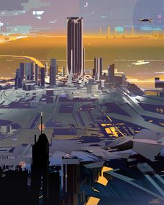 Ville 5, sparth . on ArtStation at https://www.artstation.com/artwork/ville-5