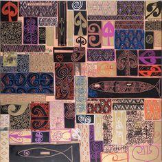 """Tracey Tawhiao, Māori artist who is part of the Māori art revival movement in New Zealand Maori Patterns, Maori Designs, New Zealand Art, Atelier D Art, Nz Art, Maori Art, Kiwiana, Art Prompts, Pattern Images"
