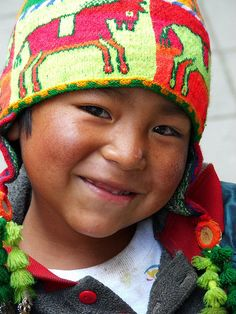 Bolivian Boy by laura_feldguer Kids Around The World, We Are The World, People Around The World, Precious Children, Beautiful Children, Little People, Little Boys, Beautiful Smile, Beautiful People