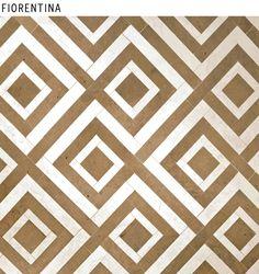David Hicks Fiorentina bathroom tiles