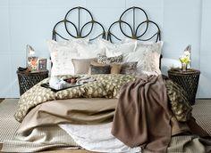 Decorar tu cama con cojines