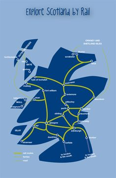 Scotland by Rail, Train journeys in Scotland - ScotRail
