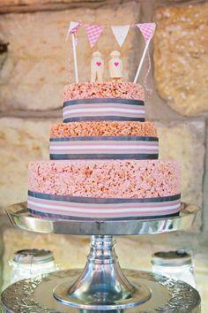 Rice Crispy Cake www.facebook.com/ArtistiCake www.artisticake.co.za Rice Crispy Cake, Best Part Of Me, Wedding Cakes, Entertainment Ideas, Cake Ideas, Party, Desserts, Gifts, Facebook