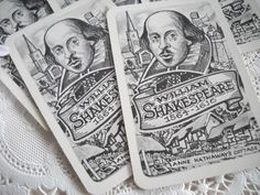 Shakespeare cards
