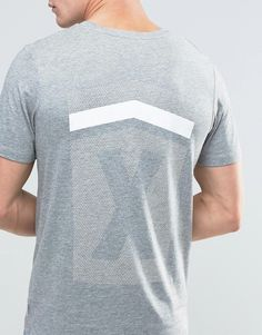 Image 3 ofJack & Jones T-Shirt with Reflective Logo and Back Print