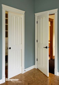 Cashal interior molded door craftmaster craftmaster for Pocket front door